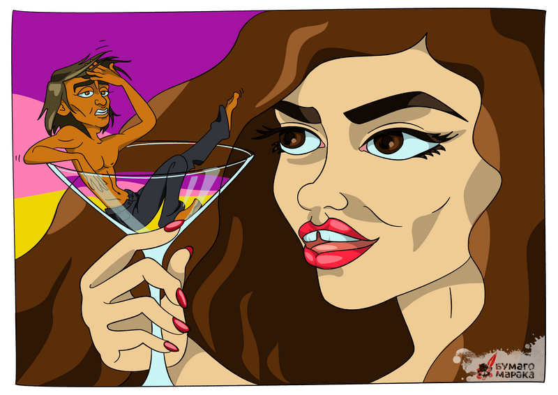 Карикатура: секс на пляже в Турции в блоге Бумагомарака