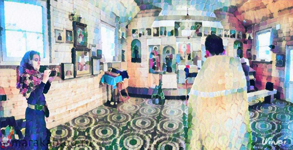 Картинка: священник в храме